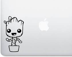 Baby groot decal, baby groot sticker, guardian of galaxy, gr