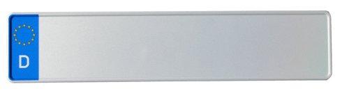 reflektierend Autoschilder mit Wunschkennzeichen KFZ-Kennzeichen EU 480 x 110 mm