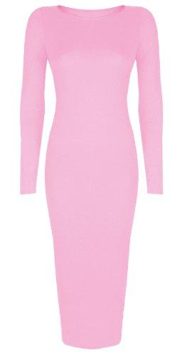 Maniche Vestito Baby Pink Baleza lunghe Donna Tw5zqwdxI