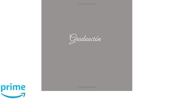 Amazon.com: Graduación ..........: Libro de recuerdos Libro De Visitas para Banquetes de Graduación Fiestas ideas regalos decoracion accesorios graduacion ...