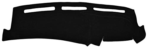 Seat Covers Unlimited Lincoln Town Car Dash Cover Mat Pad - Fits 2003-2007 (Custom Carpet, Black)