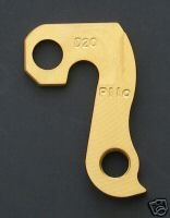 - Pilo D20 Gold Derailleur Hanger - Fits: Ellsworth, Merlin