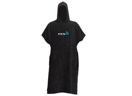 FCS Kids Changing Towel Poncho - Black