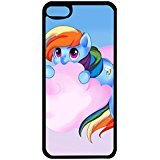 Ipod Touch 6th Gerenation TV Cartoon Cell Cover Lovely Rainbow Dash My Little Pony Phone Case Cover for Ipod Touch 6th Gerenation (My Little Pony Ipod Touch Case)