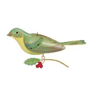 (QXE3064 Lady Painted Bunting The Beauty of the Birds Special Edition 2012 Limited Quantity Hallmark Keepsake)