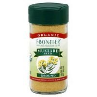 Frontier Natural Products Mustard Seed Ground -- 1.76 oz