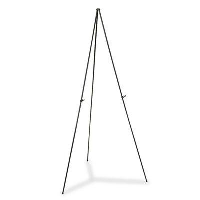 Quartet - Full Size Instant Easel 62-3/8'' Maximum Height Steel Black ''Product Category: Presentation/Display & Scheduling Boards/Easel Stands''