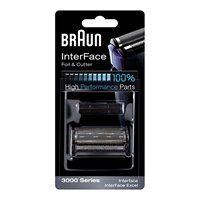 Braun 3600FC Shaver/Razor Foil and Cutter Combo Pack (3000 Series, InterFace, InterFace - Shaver 3612 Braun