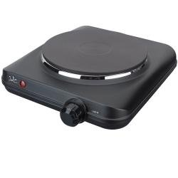 Jata CE150 Cocina eléctrica con 1 Placa calorífica, 1500 W, 0 Decibeles, Negro