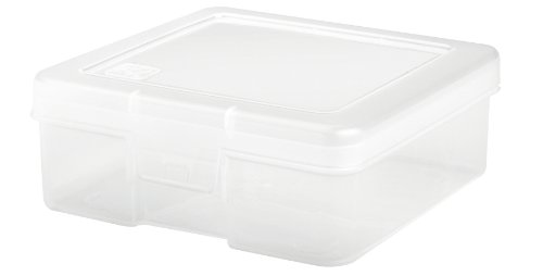 IRIS Small Modular Supply Case, 10 Pack, Clear
