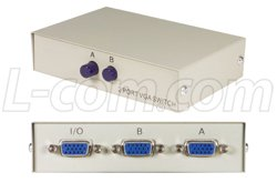 HD15 2 Way Switch Box (Electronic Hd15 Box Switch)