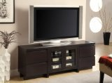 Coaster Home Furnishings Contemporary TV Console, Cherry