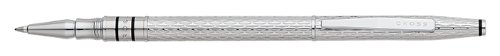 (Cross Spire, Icy Chrome, Selectip Rolling Ball Pen (AT0565-3))