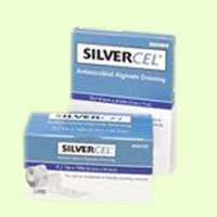 Systagenix Silvercel Antimicrobial Alginate Dressing 4 1/4 x 4 1/4 Inch - Box