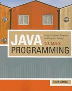 Java Programming From Problem Analysis to Program Design , 3RD EDITION by Cours Tchnology;Inc.,2008