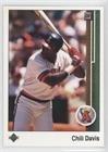 Chili Davis (Baseball Card) 1989 Upper Deck - [Base] #126
