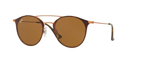 Ray-Ban RB3546 9074 49M Copper On Top Havana/Brown Sunglasses For Men For ()