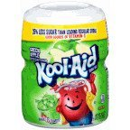 Kool-Aid, Green Apple Drink Mix, 19.5oz Canister (Pack of 4)