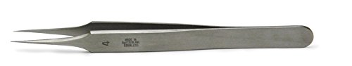 Tweezer, Dumont #4 0.08mm Tip, Inox, 11cm, Straight World Precision Instruments Europe 500340