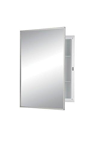 Jensen 781021 Builder Series Framed Medicine Cabinet, 16-Inch by 22-Inch by 3-3/4-Inch by Jensen