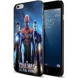 captain america civil war spiderman wallpaper For iPhone 6 Plus/6s Plus Black Case