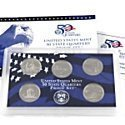 Us Treasury State Quarters (2005 United States Mint Proof State Quarter Set by US Mint)