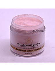 (Glam Glits Acrylic Powder 1 oz Never Enough Nude NCAC396)