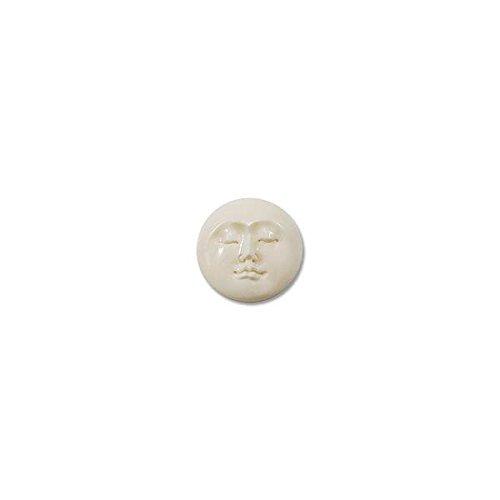 Bone Moon Face Cabochon 18mm ()
