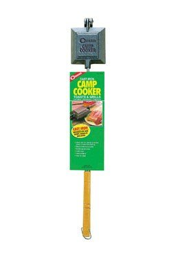 Coghlans 744 Cast Iron Camp Cooker/Pie Iron for Campfire Cooking, 2-Pack