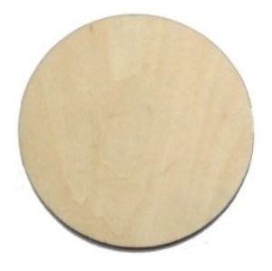 10 x wooden circle shapes plain wood craft tags 100mm for Plain wooden blocks for crafts