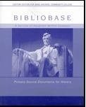 Bibliobase Documents, Custom Publication, Bellesiles, 0618498044