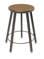 - Wisconsin Bench Five-Leg Stool With Laminate Seat - 24