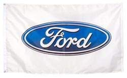 (3'x5' FORD FLAG, automotive car)