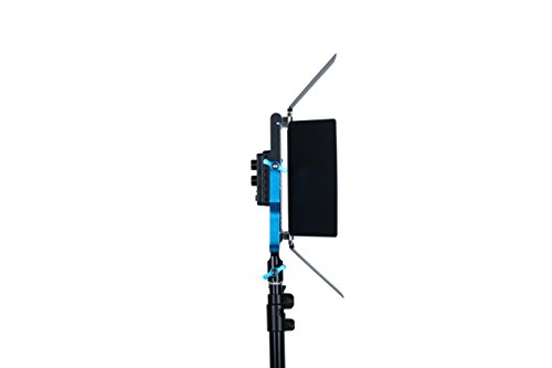 Dracast DRSPPLLK3x500DNH S Series Plus Daylight LED500 3-Light Kit 2 NPF Plates with Hard Case, Blue by Dracast (Image #5)