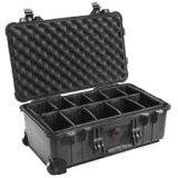 Pelican 1510-004-110 Case with Padded Dividers, Black, Best Gadgets