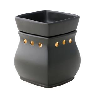 Scentsy Deluxe Warmer (Classic Satin Black Deluxe Warmer) by Scentsy
