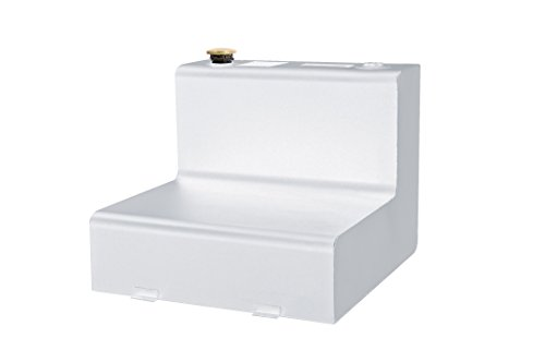 L-shape Fuel Tank - Dee Zee DZ91754S (50 gallon) L-Shape Transfer Tank - White Steel