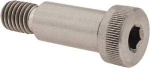 JumpingBolt 5/8 x 1-1/4'' Shoulder Diam x Length, 1/2-13, 3/4'' Thread Dep. Material May Have Surface Scratches