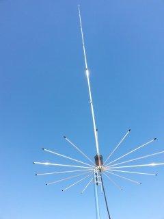 Photo Sirio Antenna Sirio 2016 (26.4-28.2 Mhz) 5/8 Wave 3000 Watts Tunable 10M & CB Base Antenna