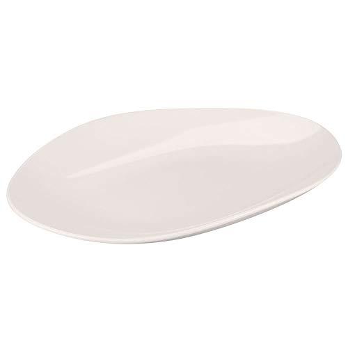G.E.T. Enterprises Manila 18 Oval Serving Platter Dishwasher Safe Melamine Plastic, Osslo Collection OP-1813-MA (Pack of 1)