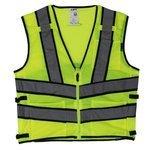 Lift Safety AV2-10LL Safety Vest, Viz-Pro 2 - Size: Large, Yellow