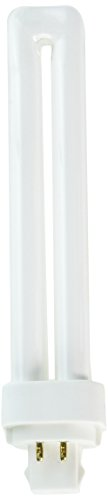 TCP 32426Q35K fluorescent Quad Tube PL Lamp - 26 Watt (1700 Lumens) Warm/Bright White (3500K) 4-Pin (G24q-3 base) - 3 Base Cfl
