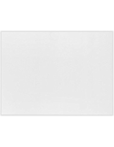 A6 Flat Card (4 5/8 x 6 1/4) - Bright White - 100% Cotton (50 Qty.)