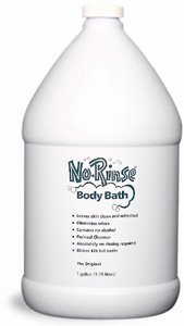 No Rinse Body Bath, 1 gallon (Case Quantity of 4) by No Rinse Laboratories