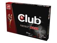 CLUB3D Radeon 9250 256MB DDR GDDR - Tarjeta gráfica (GDDR ...