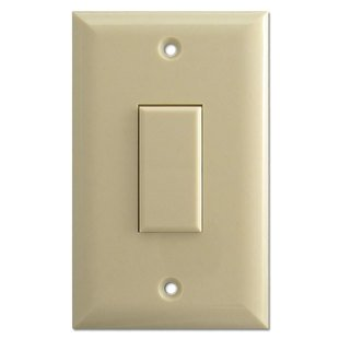TOUCH-PLATE GENS1-0100A-IVR Genesis Series LOW VOLTAGE Wall Switch - ()