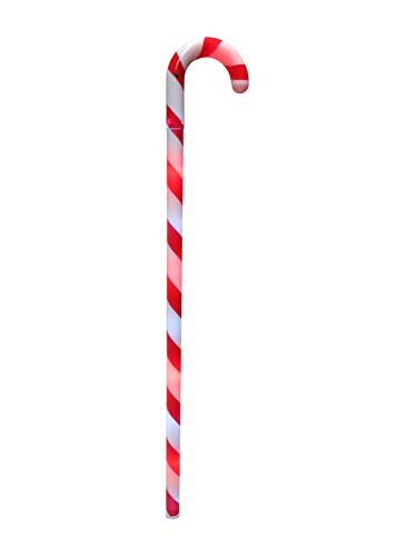 Gloworks Flashing Light Up Candy Cane Wand 23 Inches Long