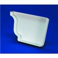 Amerimax Home #33006 5 White GalvRight EndCap