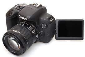 EOS 800D (Rebel T7i) DSLR Camera Bundle with 18-55mm STM Lens + 2pc Kingston 32GB Memory Cards + Accessory Kit 21Z37BnL2wL