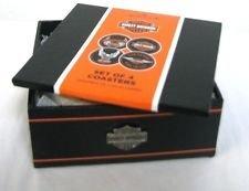 Hallmark Harley Davidson Collection 1DAV1404 Coasters - Hallmark Harley Davidson